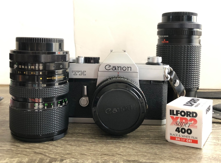 My 1st Film Camera – A Review: Canon TX