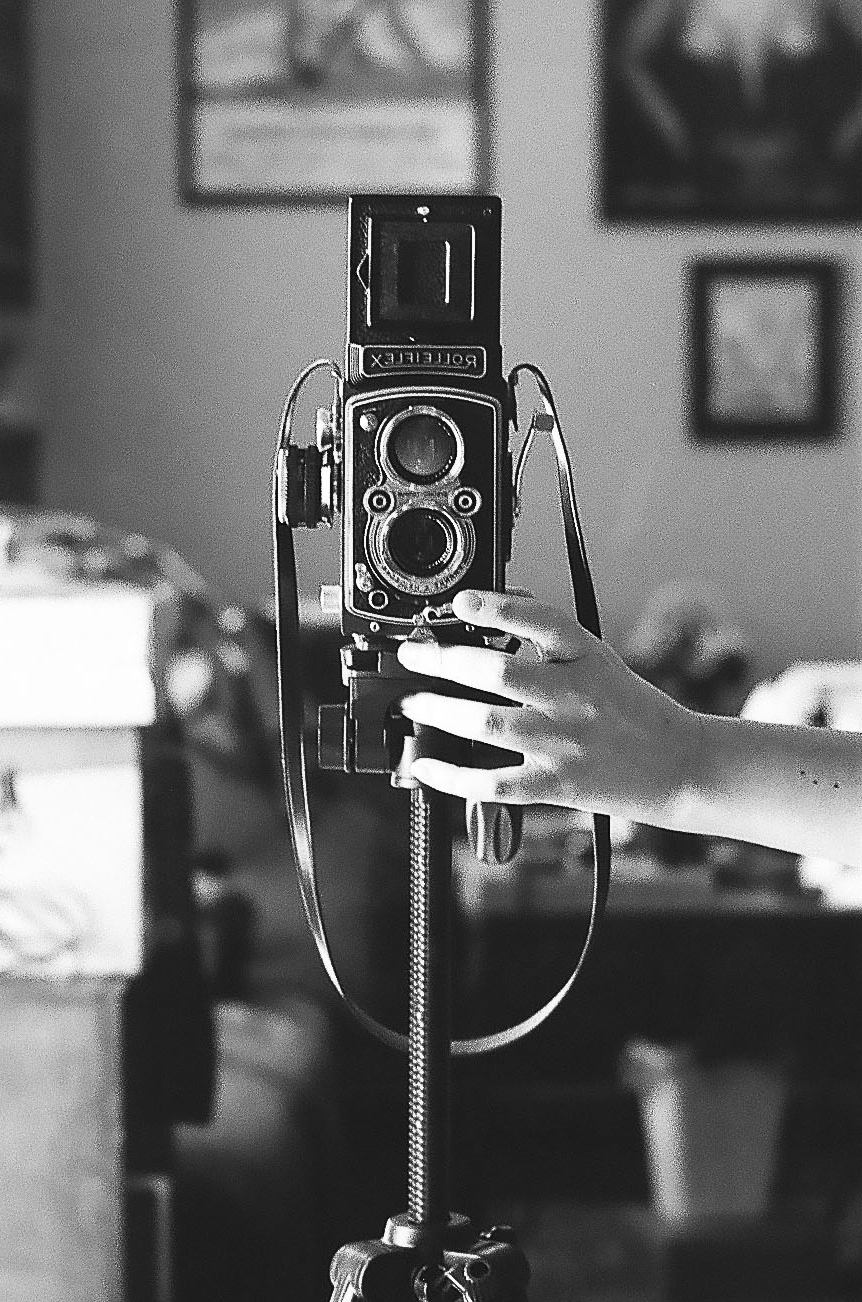 Shooting 35mm film with a Rolleiflex Automat