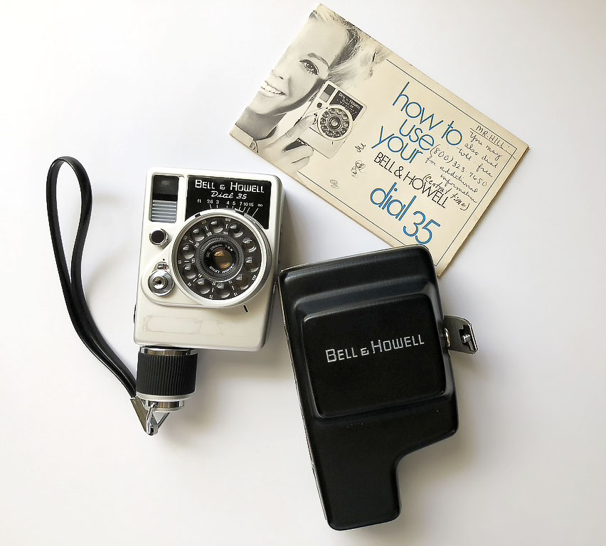 The Bell & Howell/ Canon Dial 35
