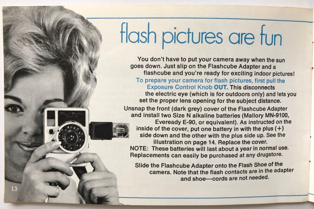 dial 35 flash cube attachment